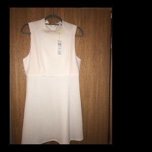 NWT BCBGeneration Sleeveless Cream Dress